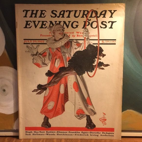 Vintage Other - July 29, 1922 The Saturday Evening Post